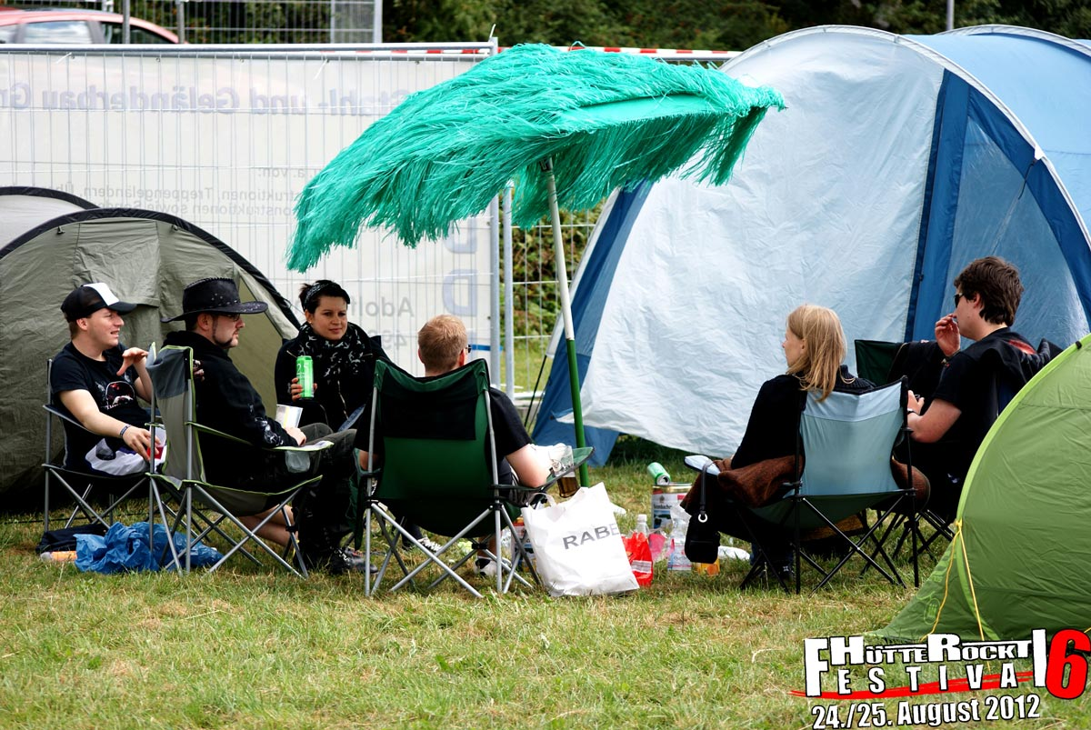 Festival 2012 Camping