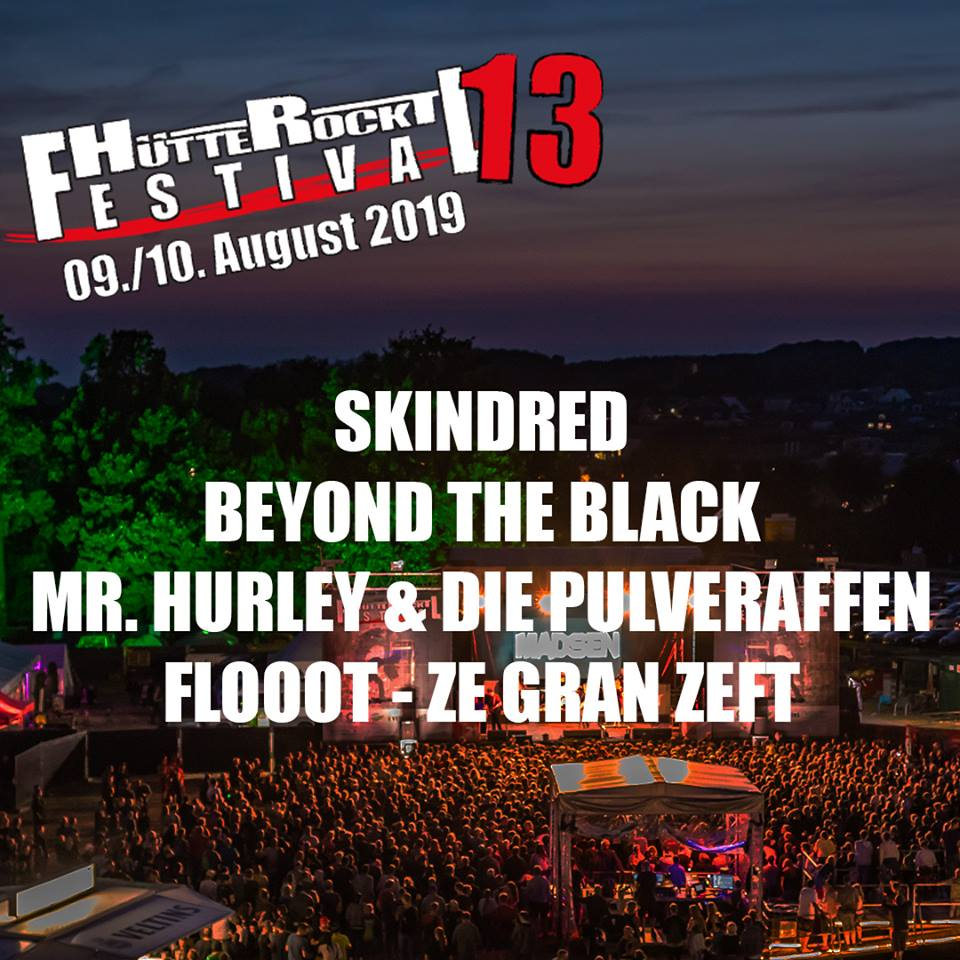 Skindred, Beyond the Black, Mr. Hurley & die Pulveraffen, FLOOOT, ZE GRAN ZEFT