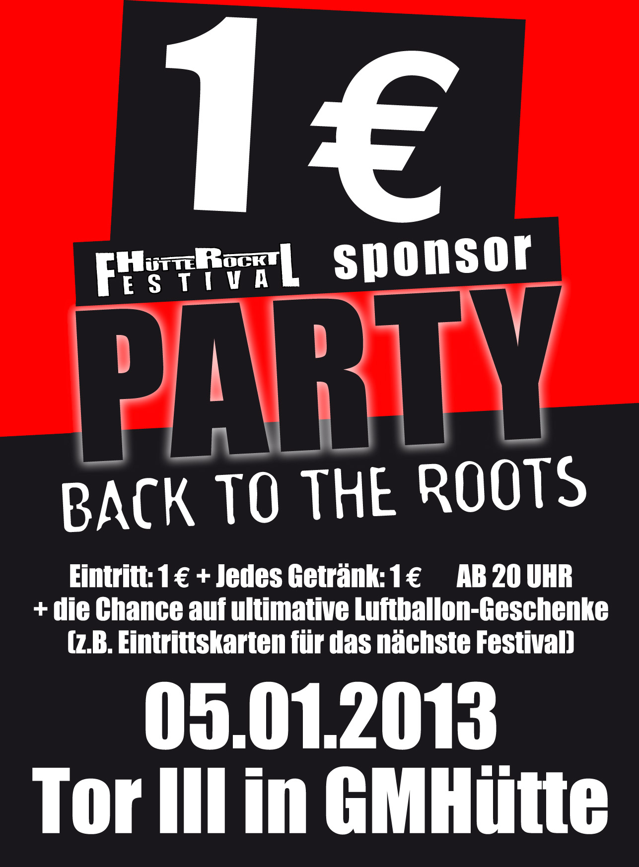 1€ Sponsor Party